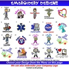 Lab Coat Embroidery Designs